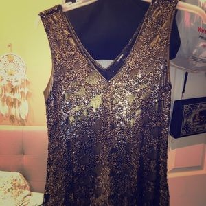 New Year's Eve sequin dress!